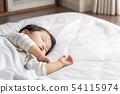 아이 낮잠 수면 54115974
