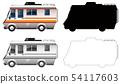Set of campervan transportation 54117603