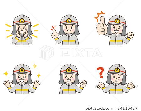 消防員男子設置 54119427