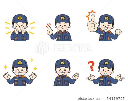 消防員男子設置 54119795