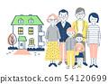 가족과 집 5 핑크 54120699