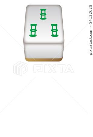 Mahjong tile three-dimensional rope 3 54122628