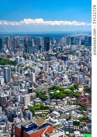 <<東京>>東京市中心/港區澀谷區附近的住宅區 54122726