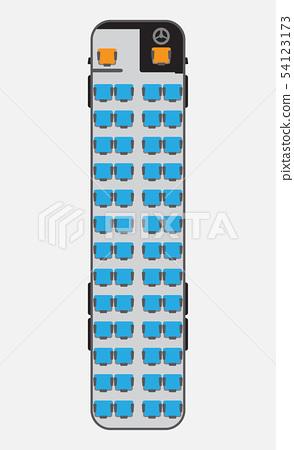 15 Meter bus seat map 54123173
