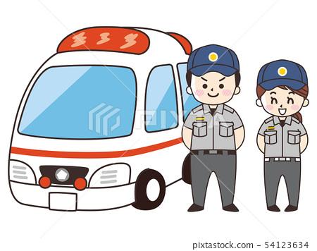 救護車和救護車 54123634