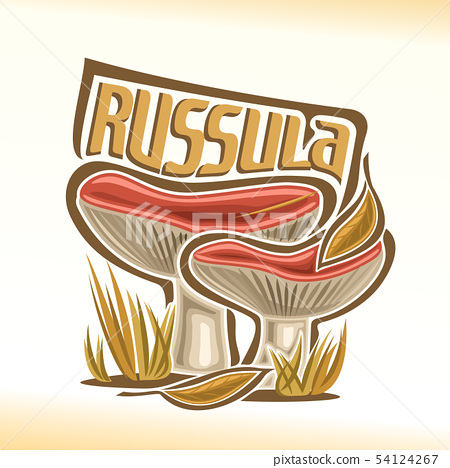 Vector logo for Russula 54124267