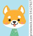 Cute shiba. 54127927
