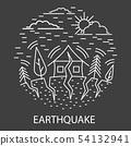 Earthquake Natural Disaster 54132941