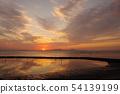 水面上的天空 54139199