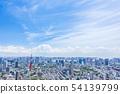 Urban landscape in Tokyo 54139799