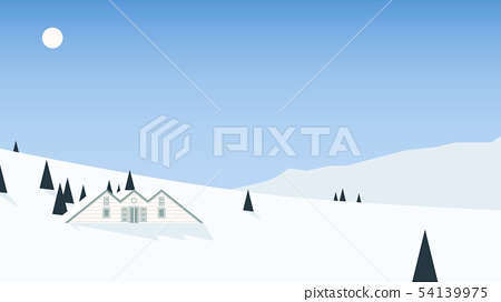 Small cottage located on mountain 54139975