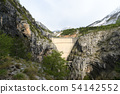 spring photo Vajont Dam in Povince Belluno 54142552