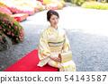 Kimono female portrait 54143587