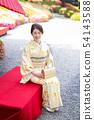 Kimono female portrait 54143588