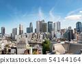 Shinjuku high-rise buildings (from Okubo) 54144164