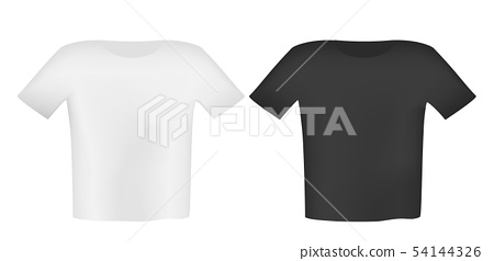 Tshirt Mockup Vector Stock Illustration 54144326 Pixta