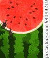 背景 - 夏天 - 西瓜 - 甲蟲 - 鹿角蟲 54149219