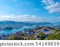 Cityscape of Onomichi City from the viewpoint of Senkoji Park in Hiroshima Prefecture 54149639