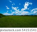 푸른 하늘과 초원 54151541
