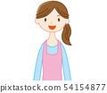 一位家庭主婦的微笑 54154877