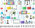 Set of lab object 54161532