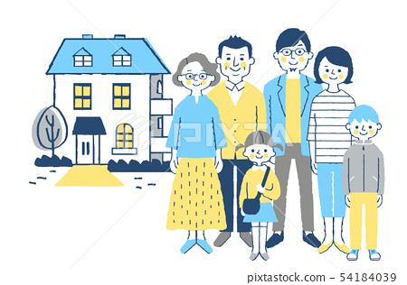 가족과 집 5 블루 54184039