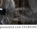 refresher fan with cold water spray 54189390