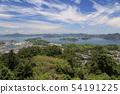 구루 시마 해협 대교와 波止浜 항을 시코쿠 관점에서 54191225