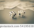 주사위 도박 주사위 게임 54195638