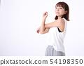 一個女人去運動 54198350