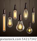 Light Bulbs Realistic Set  54217342