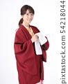 Young woman wearing a yukata 54218044