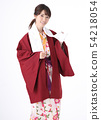Young woman wearing a yukata 54218054