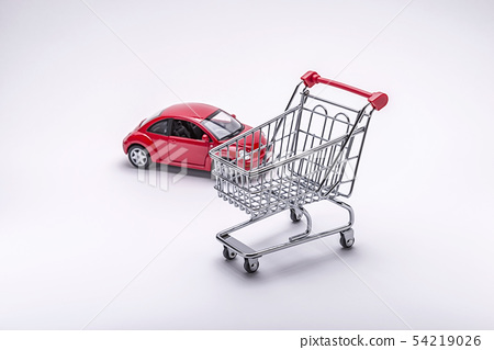 Model cars, shopping carts 54219026