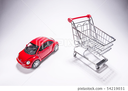 모형자동차,쇼핑카트 54219031