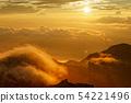 황혼의 중앙 알프스 기소 고마가 타케에서의 전망 54221496