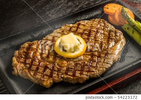 그릴 스테이크 american grilled steak 54223172