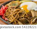 Delicious yakisoba 54228221