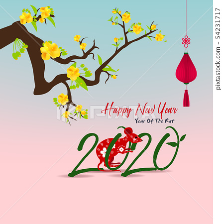 Happy Chinese New Year 2020 54231717