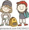 孩子們去遠足,遠足和課外活動 54239422
