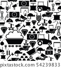 mining seamless pattern background icon. 54239833