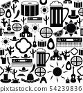 mexico seamless pattern background icon. 54239836