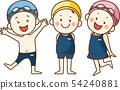 孩子們喜歡游泳池 54240881