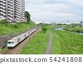 Go along Yokohama Line 185 series Tsurumi River 54241808