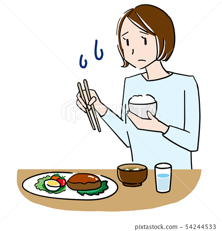 A woman without appetite 54244533