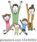 家庭兩代家庭跳 54246902