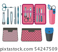 Toiletry Bags Travel Cosmetic Flat Icon Kit 54247509