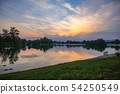 Jarun Lake sunset 54250549
