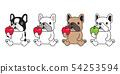 개, 강아지, 벡터 54253594