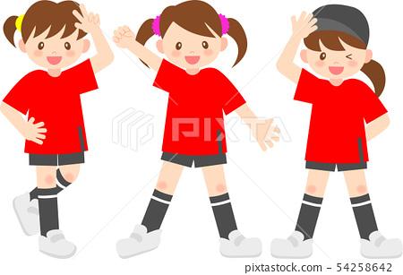 舞蹈隊的女孩 54258642